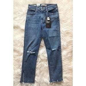 Levi's | Premium 724 High-Rise Straight Cropped
